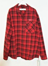 OFF-WHITE/FLANNEL CHECK SHIRT