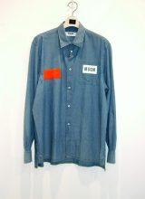 MSGM/デニムシャツ