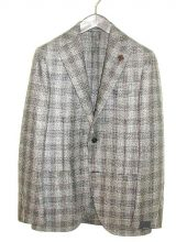 LARDINI/ジャケット  GRAY CHECK IE0526AQ