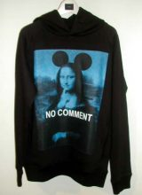 NO COMMENT PARIS / MONA LISA MICKEY BLUE