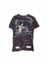 OFF-WHITE/マーブルTシャツ