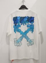 OFF-WHITE BLUE MARKER OVER Tシャツ