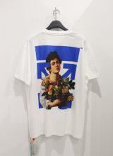 OFF-WHITE BOY CARAVAGGIO OVER Tシャツ WHITE