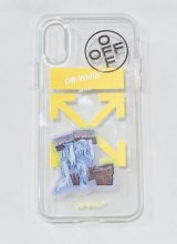 OFF-WHITE/iPhone case