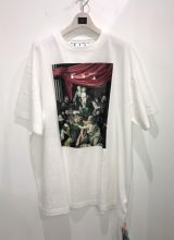 off-white 2020 F/W CARAVAG PAINTING OVER Tシャツ