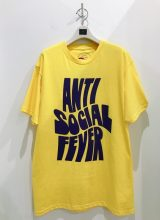 ANTI SOCIAL SOCIAL CLUB 2020/SS Chatsworth Tシャツ YELLOW