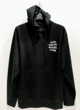 ANTI SOCIAL SOCIAL CLUB 2020/SS ロゴパーカー BLACK