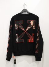 OFF-WHITE CARAVAGGIO SLIM CREWNECK