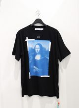 OFF-WHITE BLUE MONALISA OVER Tシャツ